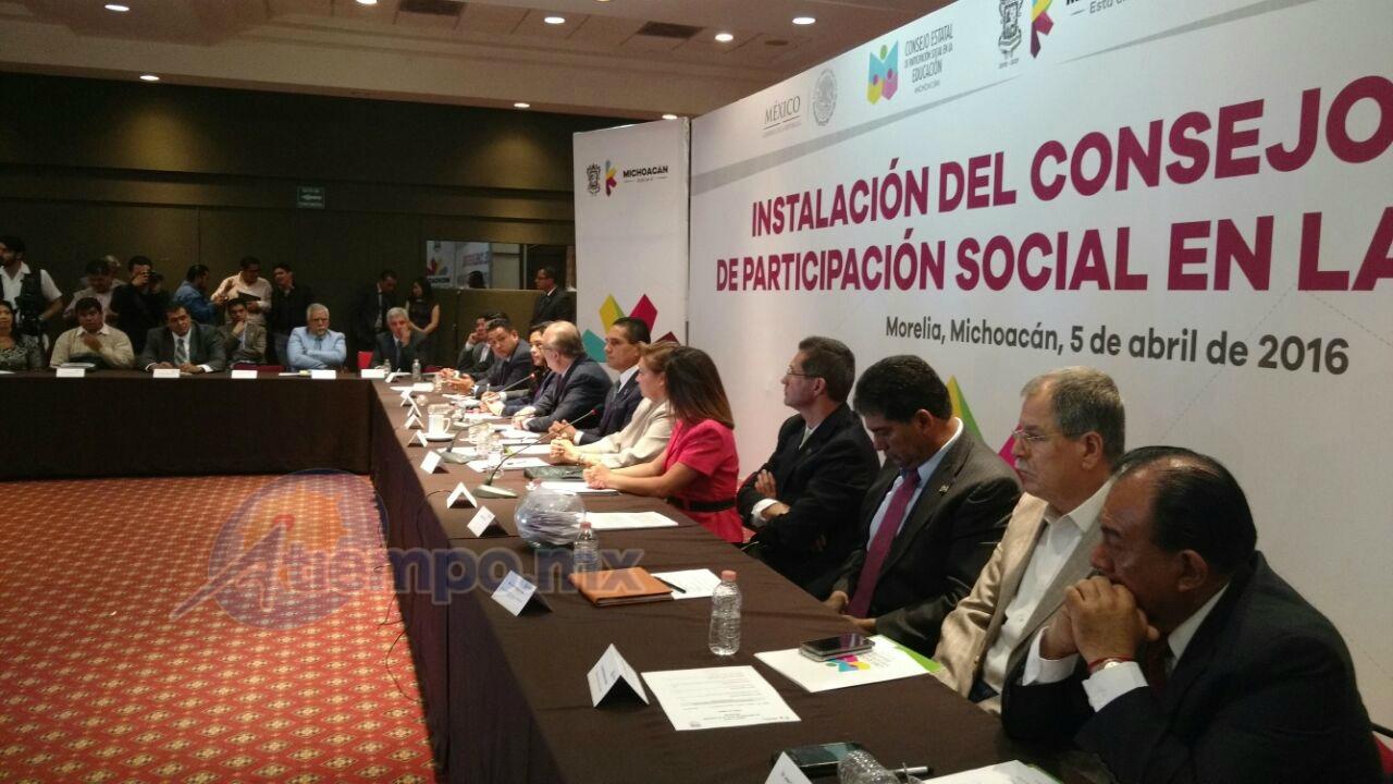 Como invitado a este evento se cuenta con la presencia del gobernador de Morelos, Graco Ramírez (FOTO: FRANCISCO ALBERTO SOTOMAYOR)