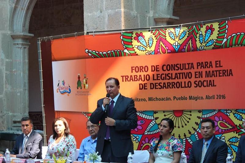 Prieto Gómez recordó que el pasado 18 de marzo se realizó el primer foro en Jacona, con excelente respuesta de organizaciones sociales, académicos, autoridades