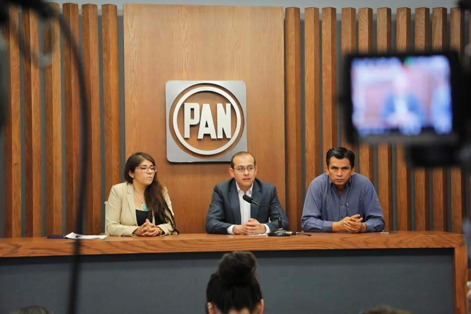 El dirigente blanquiazul en la entidad recalcó que Acción Nacional seguirá estando del lado de la gente