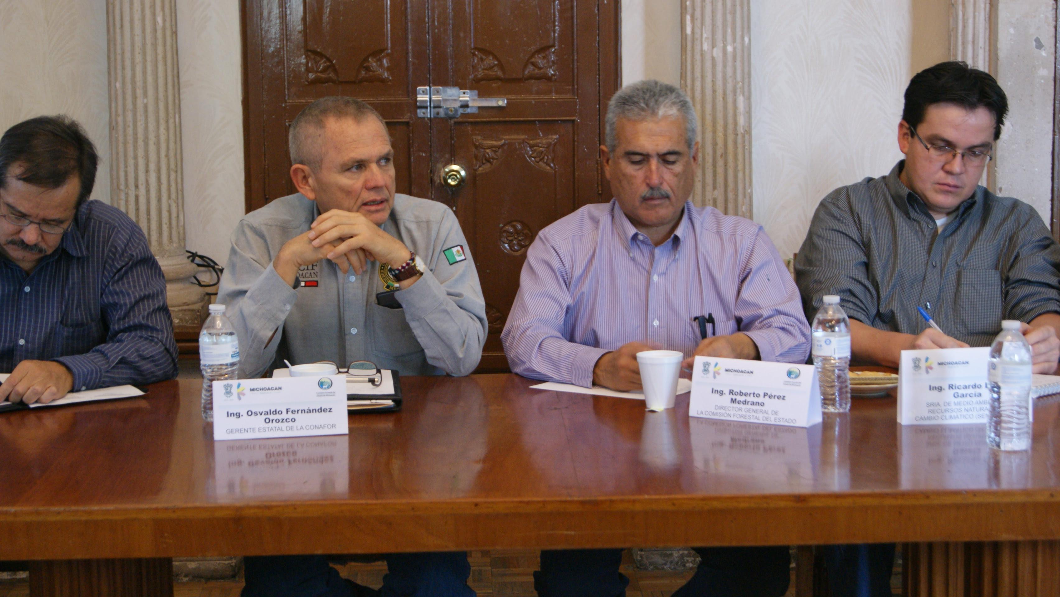 Autoridades de la Conafor y de la Cofom realizaron la sesión del Comité Técnico de Sanidad Forestal