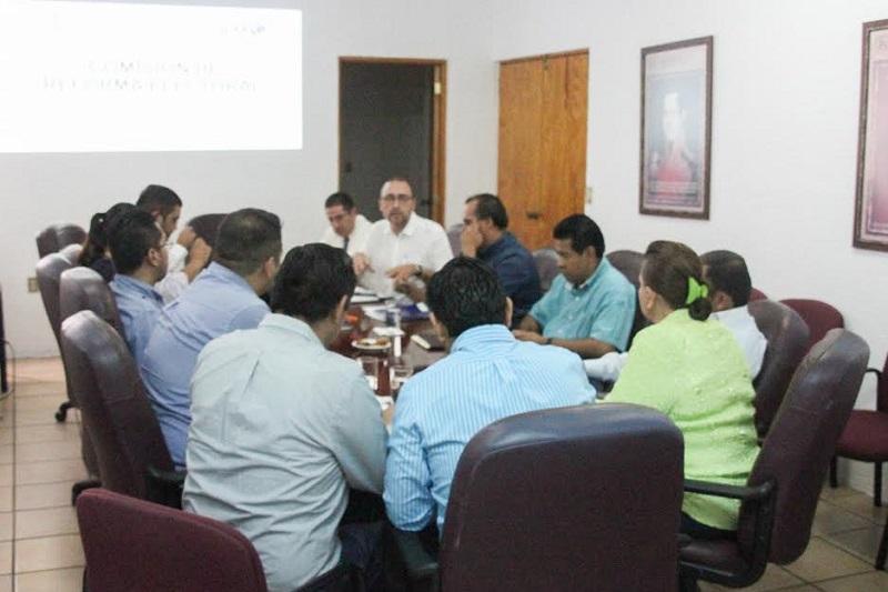 En la reunión se establecieron la metodología, los tiempos y los  objetivos que se aprobaron previamente