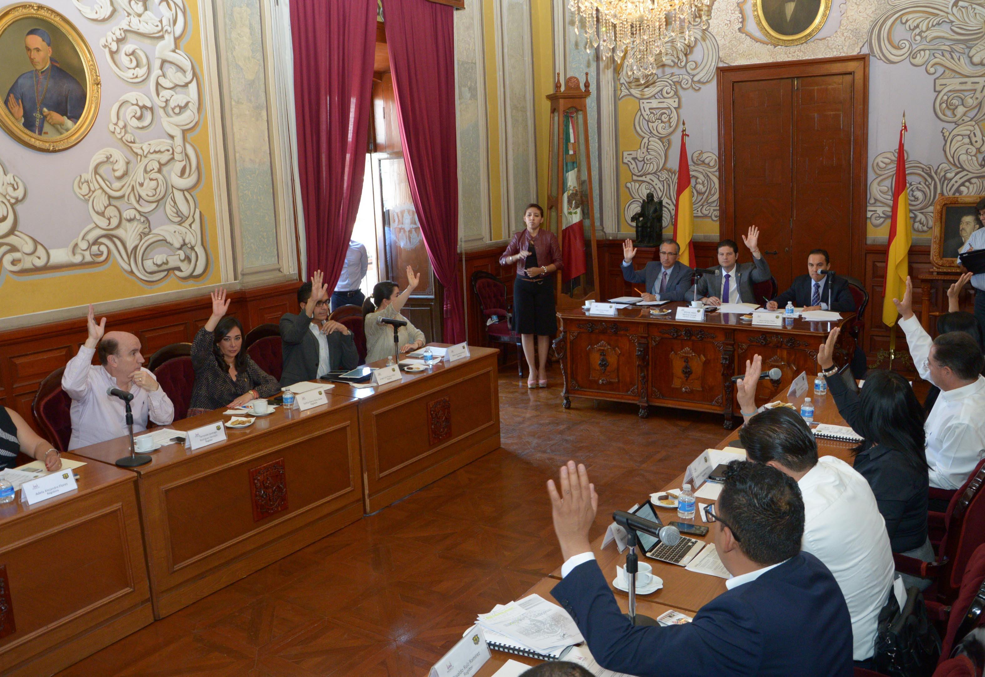 Los regidores determinaron dar su voto a favor para la ampliación líquida al Presupuesto de Ingresos y Presupuesto de Egresos correspondientes al ejercicio fiscal de 2016