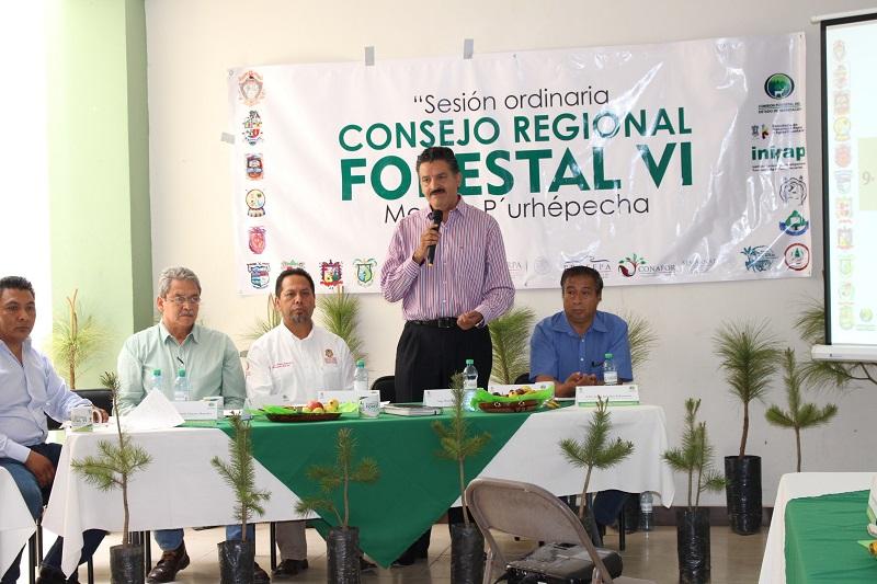 El titular de la SEMARNACC, Ricardo Luna García, expuso que la confianza que están poniendo los silvicultores en este proyecto no se verá defraudada