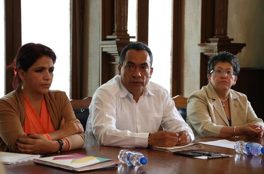 El encargado de la política interna reiteró el apoyo del Gobierno del Estado para la construcción de Ciudad Mujer en el municipio