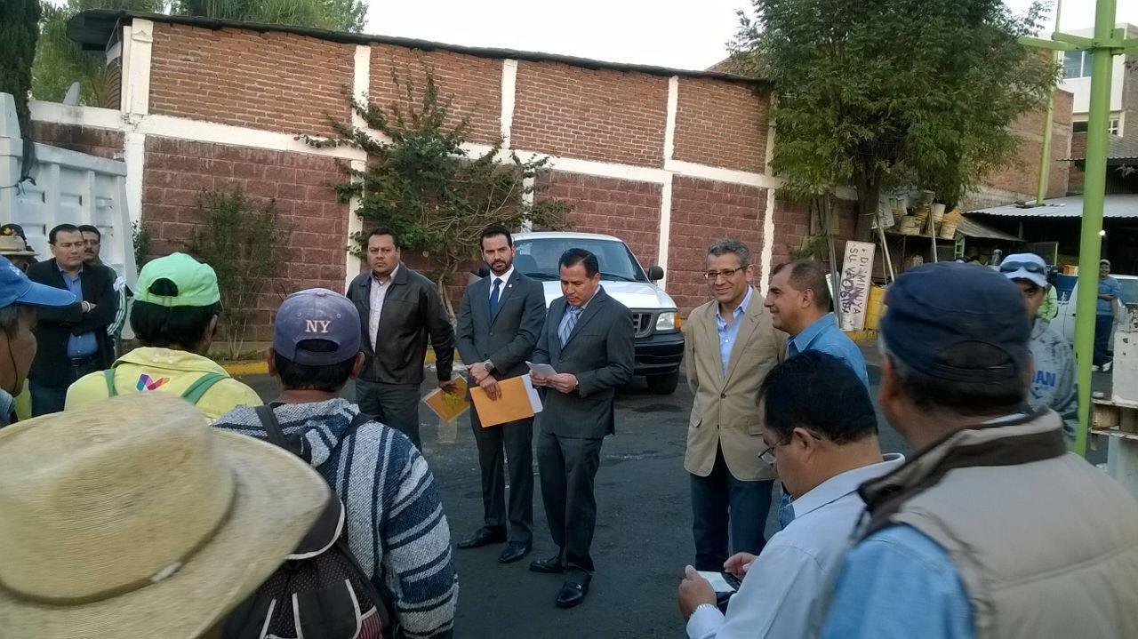 El secretario de Administración, Yankel Benítez Silva, fue el encargado de realizar el relevo institucional y dar la bienvenida a Mejía Villaseñor