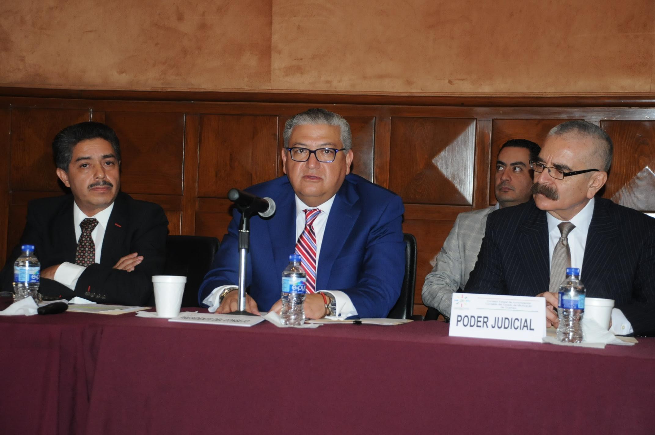 En el marco de la instalación, se realizó la Primera Sesión Ordinaria del Ejercicio 2016 del COEAC