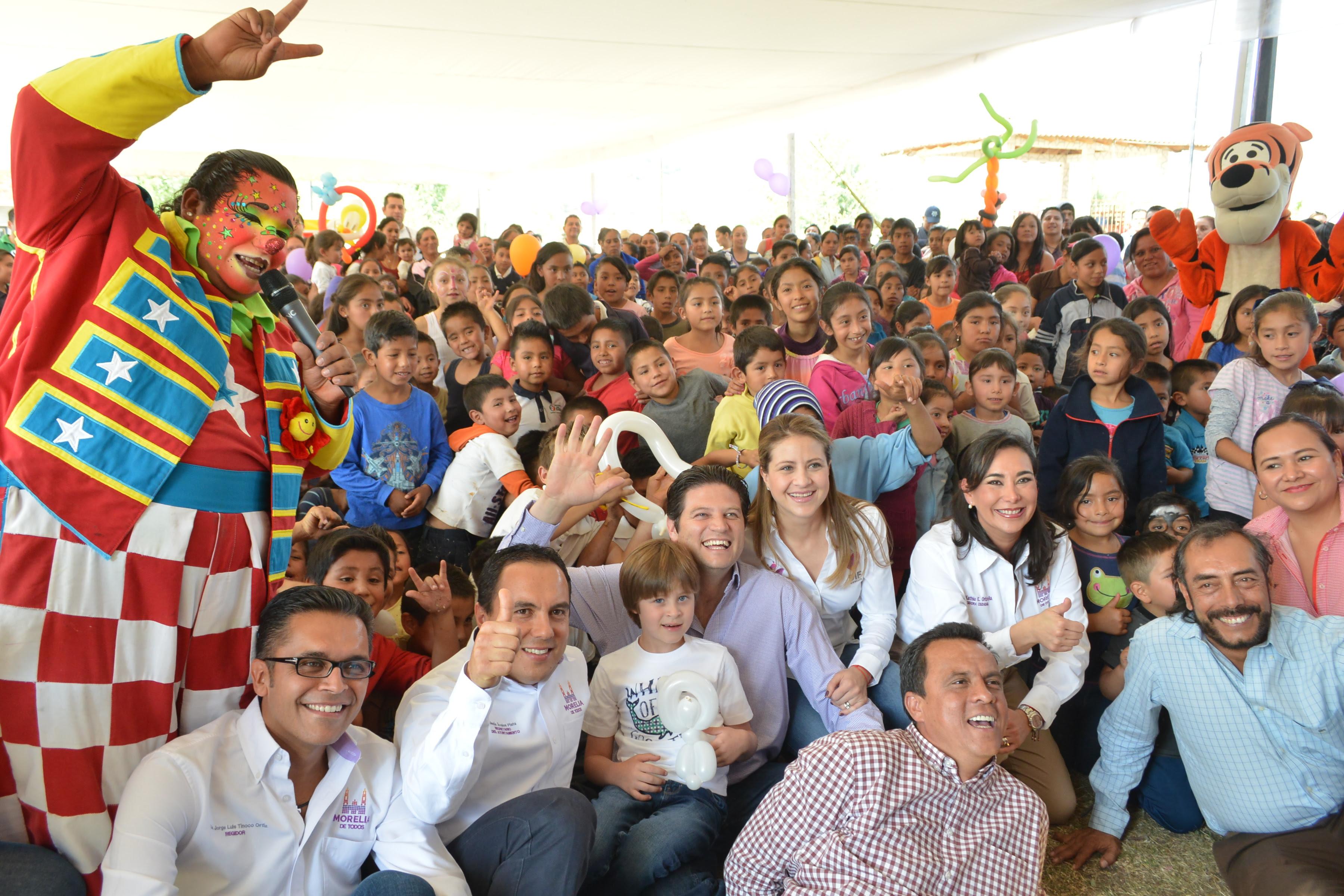 La Tenencia de San Miguel del Monte fue escenario de un espectáculo dirigido a niños