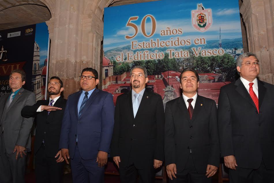 La Universidad debe ser punta de lanza para el nuevo Michoacán, argumentó el rector, de allí que se busque trabajar en unidad, con respeto a la diversidad y el reconocimiento mutuo