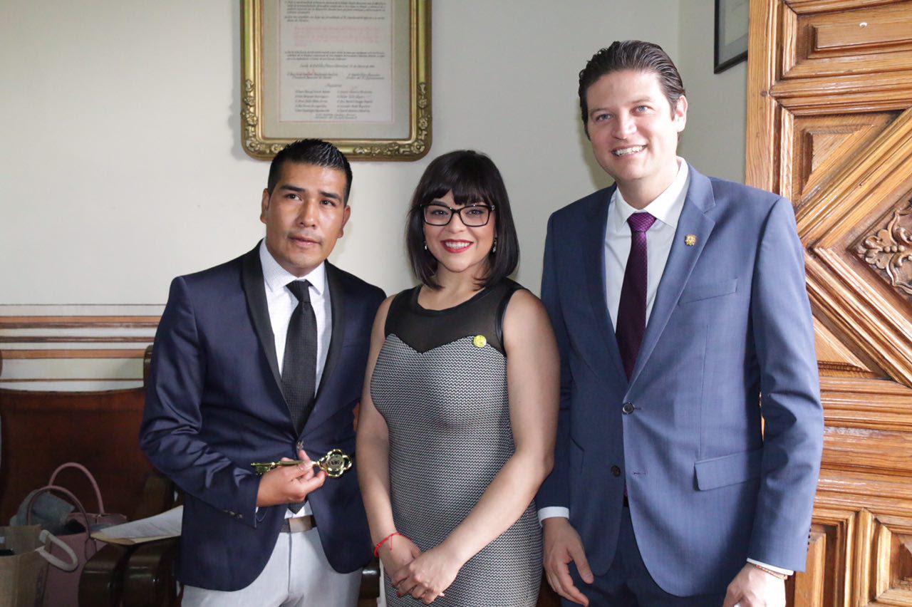 El alcalde Alfonso Martínez manifestó la total disposición de esta administración por establecer estrategias de intercambio que beneficien a la sociedad de ambas ciudades