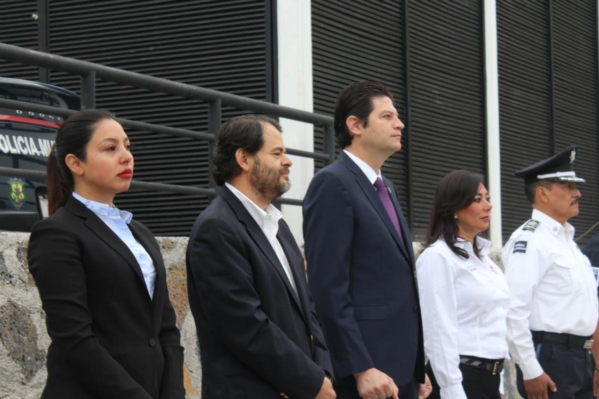 El alcalde Alfonso Martínez recordó que esta administración también está realizando su mejor esfuerzo para que puedan tener mejores condiciones de empleo, y para que cada buen resultado de los elementos sea premiado