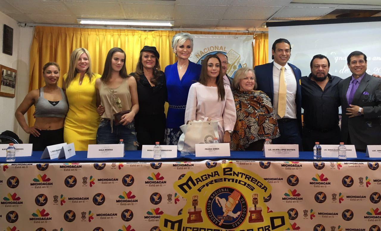 López Bautista reconoce a la Asociación Nacional de Locutores de México por haber elegido a la entidad como sede del evento, al que asistirán comunicadores, artistas y actores, a quienes solicita promover lo que verdaderamente es Michoacán