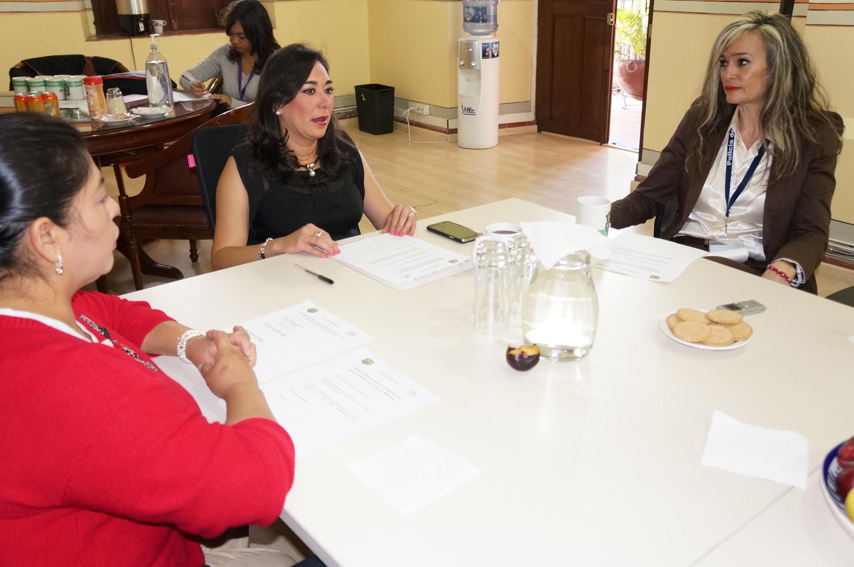 Marcela Muñoz afirmó que los trabajos se han socializado para que se conozca que la Policía de Morelia recibe denuncias con una atención integral