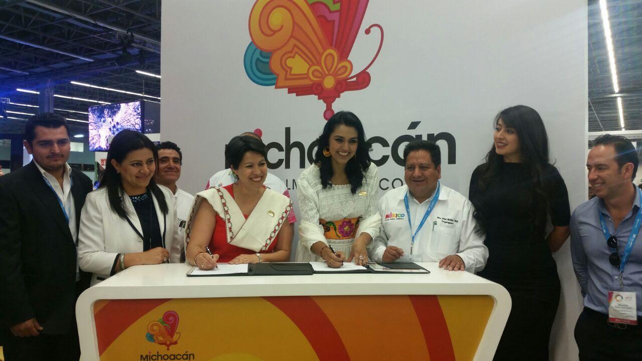 Con esta acción, Michoacán abrió la primera jornada de negocios del 41° Tianguis Turístico