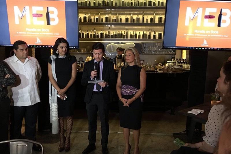 Aquique Arrieta destacó que Morelia en Boca se consolida como uno de los productos turísticos gastronómicos más importantes, no sólo de la ciudad, sino de México