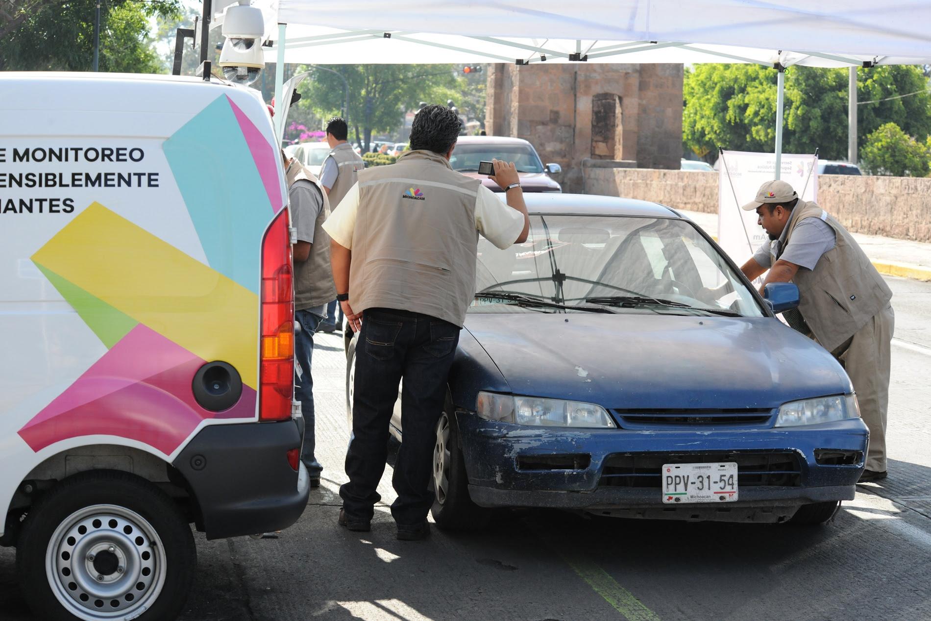Con el fin de abarcar la mayor parte de la matrícula vehicular de la capital michoacana, los operativos se moverán por diferentes puntos de la ciudad