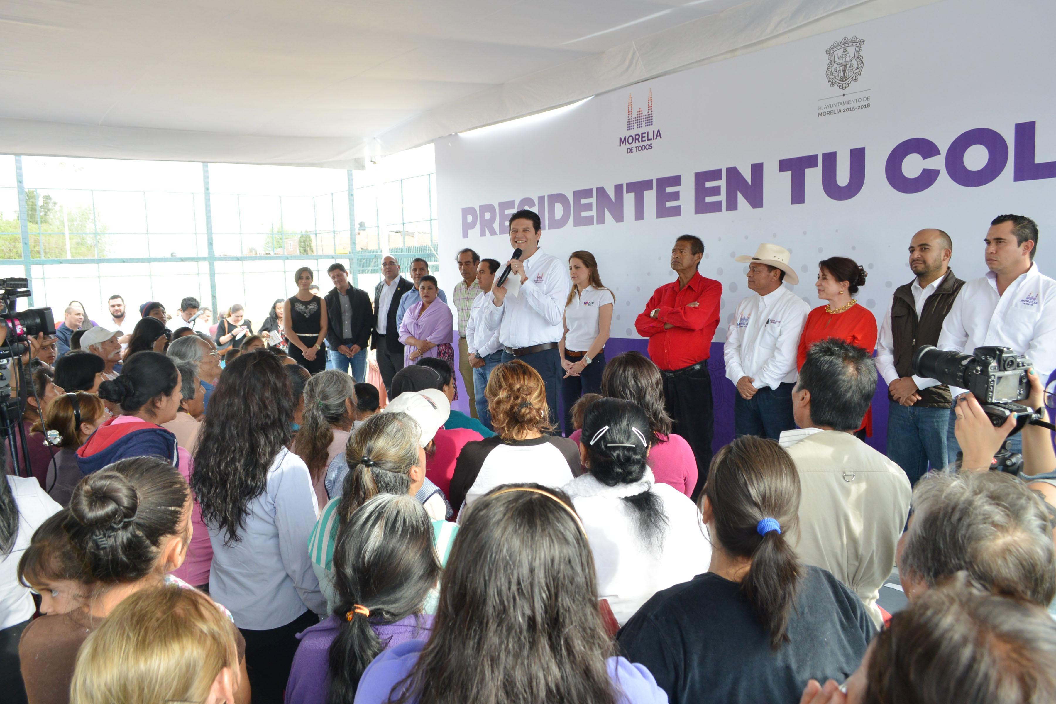 La cita es a partir de las 16:00 horas en el Centro Comunitario ubicado en la calle Juana Bautista Márquez S/N