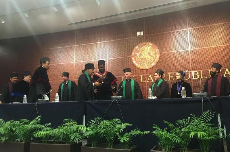 """Trujillo Íñiguez se comprometió a entregar lo mejor década quien al servicio de los demás, pues dijo que """"hoy más que nunca el mundo requiere de personas dedicadas a la búsqueda de la verdad y entregadas a la justicia social"""""""