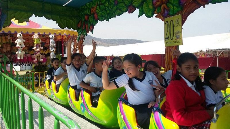 Alumnos de diversas escuelas del estado realizarán actividades lúdicas y culturales en la Expo Fiesta Michoacán 2016