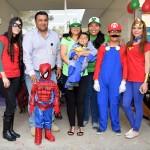 Alrededor de 100 pequeños celebraron el Día del Niño disfrazados de superhéroes