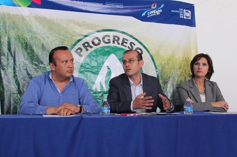 Acción Nacional arranca en Uruapan una campaña de reforestación que será replicada en todo el estado