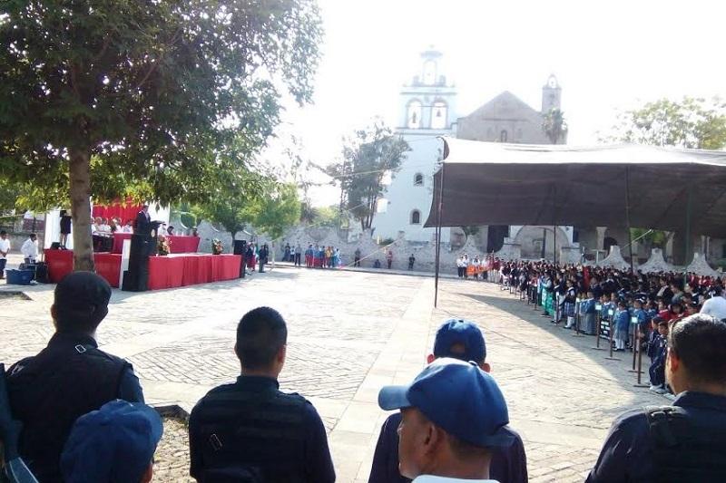 En el municipio de Cuitzeo, el coordinador de Estudios, Divulgación y Capacitación, Gerardo Andrés Herrera, dio inicio a los trabajos de capacitación, promoción y difusión de esta estrategia nacional