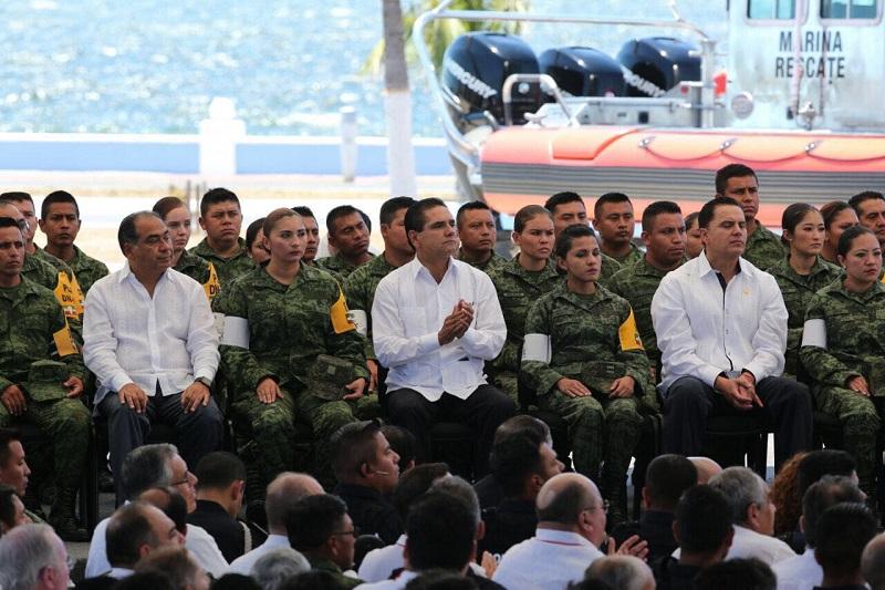 Reconoce representante de las Naciones Unidas que México es líder en el ámbito de reducción del riesgo de desastres y ha avanzado hacia una cultura preventiva más que paliativa
