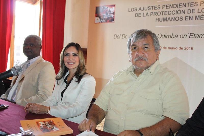 Nalleli Pedraza Huerta es presidenta de la Comisión de Derechos Humanos en el Congreso del Estado
