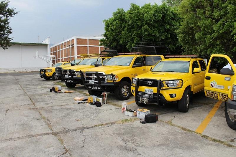 En lo que va del año, en Michoacán se han registrado 689 incendios forestales con una afectación de 13 mil 741.16 hectáreas