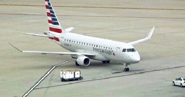 El avión, que está siendo revisado por equipos especiales, aterrizó de emergencia alrededor de las 08:30 horas locales luego que fue la misma tripulación la que reportó la posible presencia de una bomba a bordo