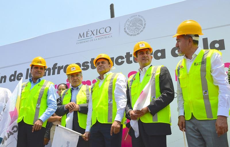 Soto Sánchez apuntó que la modernización de vialidades estratégicas en la ciudad eleva la competitividad y el potencial para la atracción de inversiones