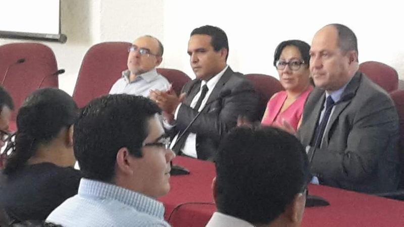 El presidente del IMAI enfatizó a la plantilla de los servidores públicos del IEM y a representantes de partidos políticos, para enfatizar la responsabilidad que tienen de colaborar en la transparencia institucional