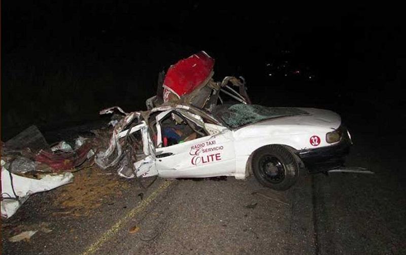 El accidente sucedió sobre el Libramiento de Jacona, a la altura del balneario El Campestre (FOTO: TOMADA DE CAMBIO DE MICHOACÁN).
