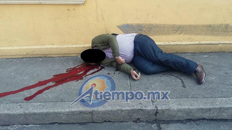 El asesinato ocurrió casi frente a la antigua sede del Comité Ejecutivo Estatal del PRD en Michoacán (FOTO: FRANCISCO ALBERTO SOTOMAYOR)