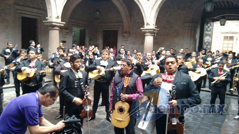 En días pasados, autoridades municipales reubicaron a los mariachis del Centro Histórico en la Plazuela de Carrillo (FOTO: FRANCISCO ALBERTO SOTOMAYOR)