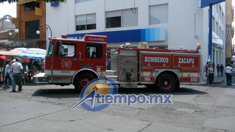No se reportan personas lesionadas (FOTO: FRANCISCO ALBERTO SOTOMAYOR)