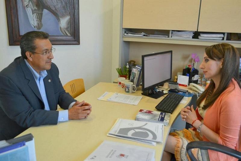 Lázaro Medina aseguró que las casas de estudios serán primordiales para trabajar por nuestro estado, pues tener otra visión hará detonar nuevos proyectos para construir la paz