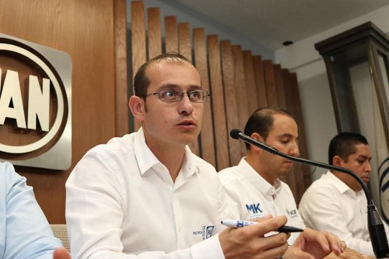 Ayuntamientos blanquiazules harán una inversión histórica de más de 230 millones de pesos, aseguró la dirigencia panista en rueda de prensa