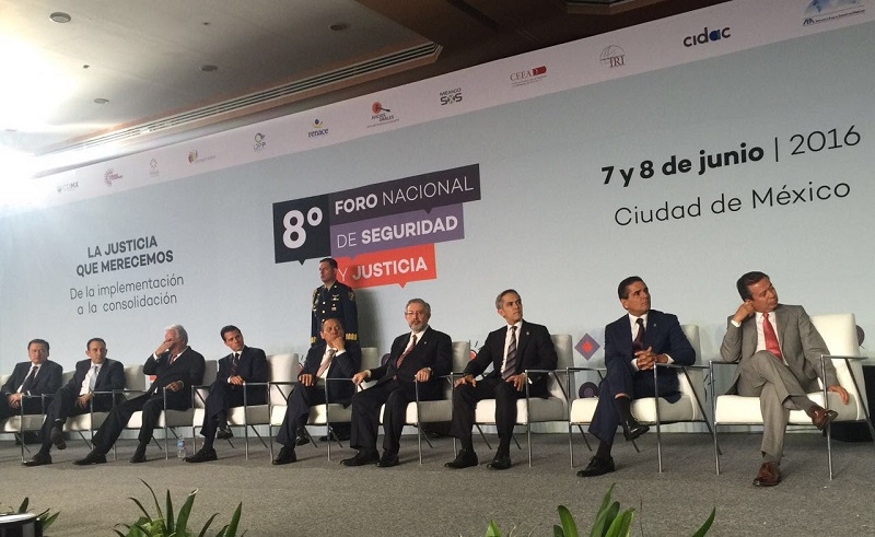 Cabe recordar que recientemente –el pasado 7 de mayo-, Michoacán cumplió al 100 por ciento con la implementación del Nuevo Sistema de Justicia Penal