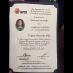 La docente investigadora nicolaita recibió la certificación No. 926 de dicho órgano colegiado que además está reconocida por el Instituto Mexicano de Contadores Públicos, una institución con un alto prestigio en México