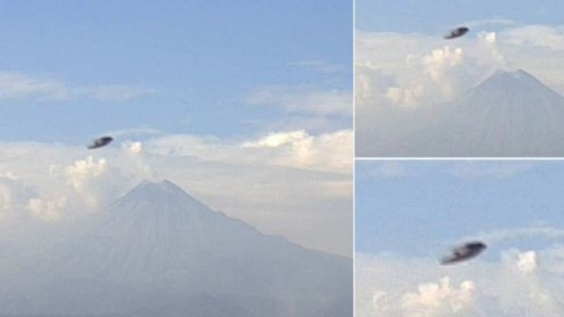 La fotografía fue capturada por una de las cámaras que integran la red Webcams de México