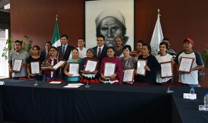Michoacán logró 15 reconocimientos, que serán entregados este miércoles en la Residencia Oficial de Los Pinos