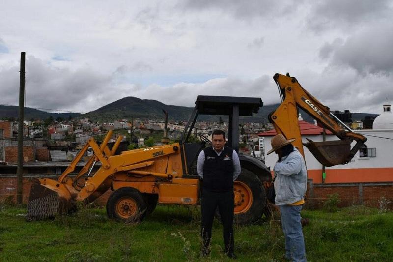 Además, el plantel Santa María inicia ampliación; la inversión es de 3 millones 400 mil pesos