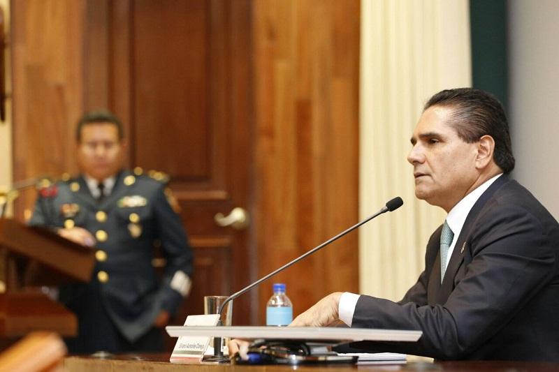 Aureoles Conejo afirmó que trabaja con la firme intención de transformar al estado y enfilarlo en una ruta de estabilidad, seguridad y desarrollo económico y social