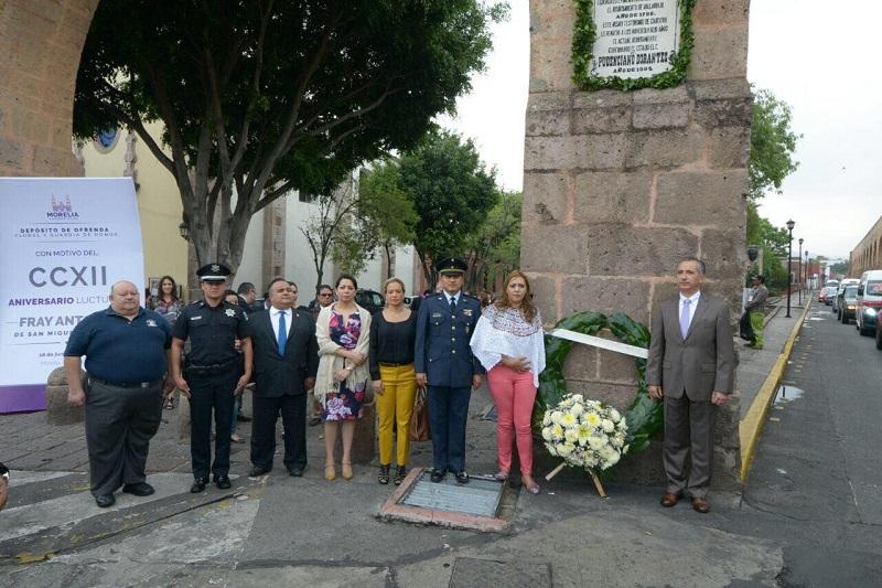 Es de recordar que el Obispo que radicó en Morelia desde el 25 de junio 1784 promovió no sólo el mejoramiento de la imagen urbana de Morelia, sino también la caridad a los sectores vulnerables y la salvaguarda de la población