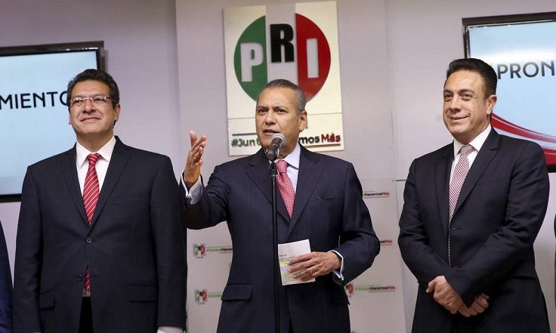 El 20 de agosto de 2015 fue el día en el que Manlio Fabio Beltrones tomo la dirigencia del Partido Revolucionario Institucional