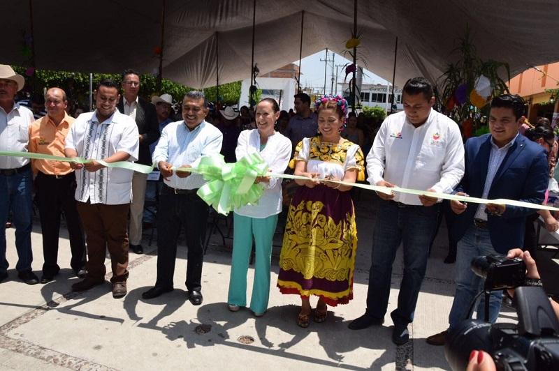 Rocío Beamonte Romero felicitó la organización y el trabajo conjunto que se ha establecido entre los municipios y el Sistema DIF Michoacán