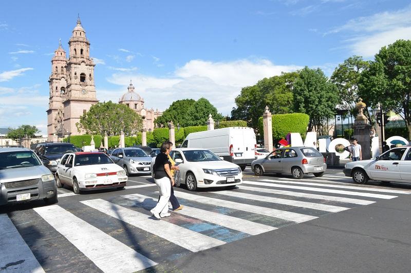 La administración municipal del alcalde Alfonso Martínez promueve y fortalece la cultura vial que privilegia al peatón.