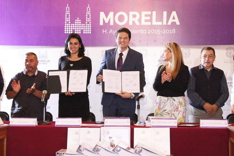 Morelia es una de las 14 ciudades elegidas para potenciar el desarrollo turístico a nivel nacional, destacó Martínez Alcázar
