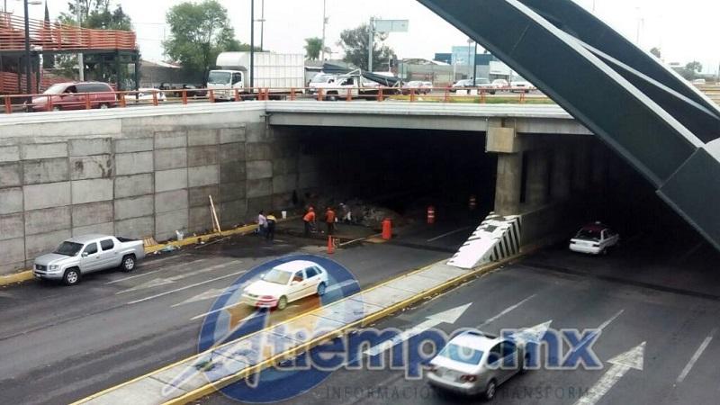 Sigue dando problemas la obra cumbre del Plan Michoacán, misma que costó, según estimaciones, alrededor de 1 mil mdp y no ha sido inaugurada (FOTOS: MARIO REBO)