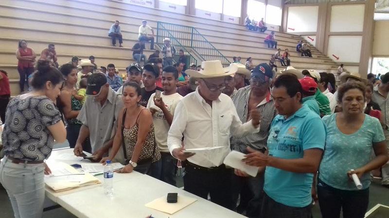 SEDRUA en coordinación con la SAGARPA, trabajan conjuntamente para apoyar a los productores que sufrieron daños en cultivos por contingencias climatológicas